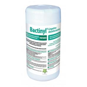 BACTINYL LINGETTES DESINFECTANTES PARFUMEES Nettoyant désinfectant parfumé
